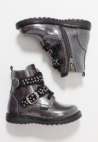 Primigi - Lace-up ankle boots - canna fuc/nero - 0