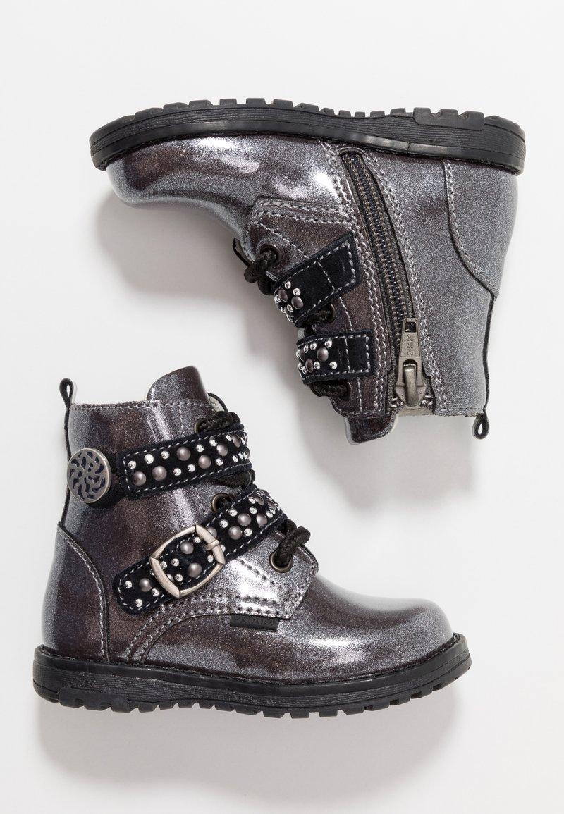 Primigi - Lace-up ankle boots - canna fuc/nero