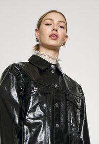 Weekday - KEISHA  - Button-down blouse - black - 4