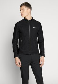 Selected Homme - CLASSIC JACKET  - Leather jacket - black - 5
