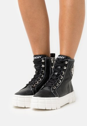PERI LACE UP TOP - High-top trainers - black