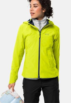 Outdoor jacket - flashing yellow