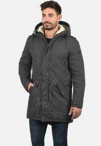 Solid - DARNELL - Winter coat - dark grey - 0