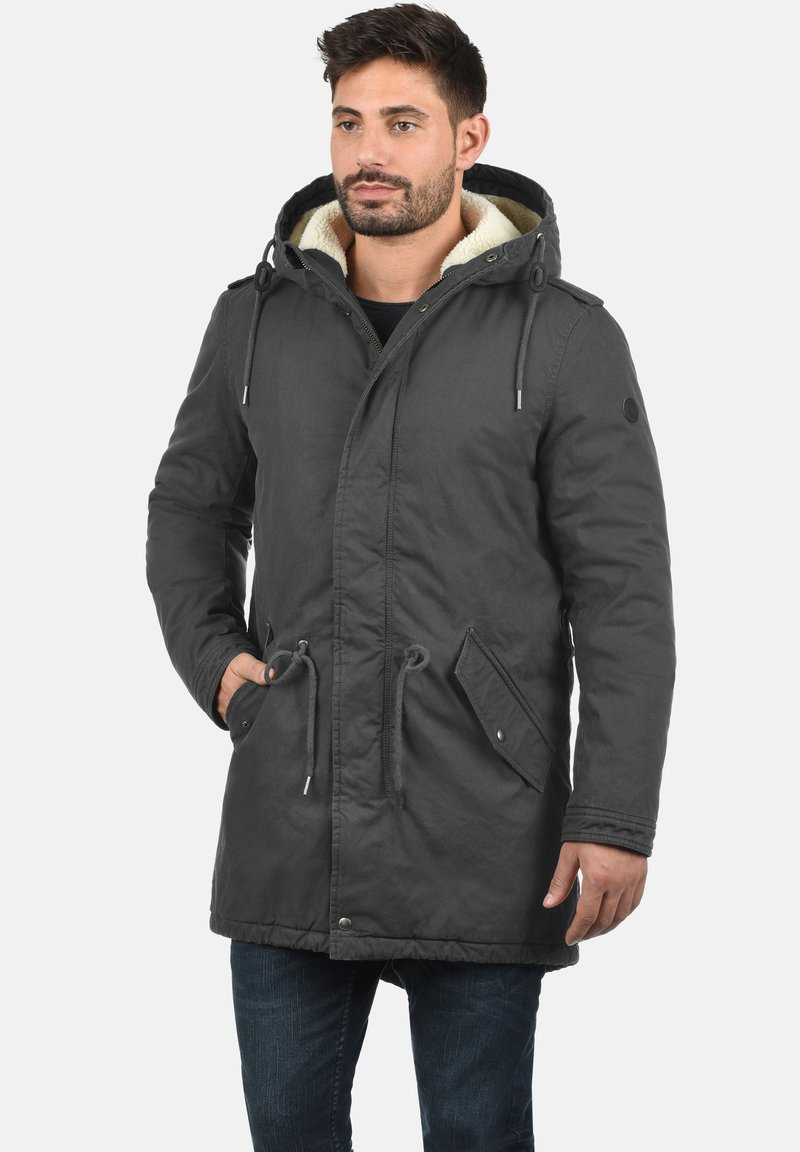 Solid - DARNELL - Winter coat - dark grey