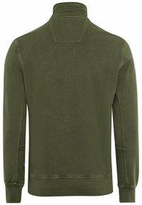 camel active - Zip-up sweatshirt - olive brown - 8