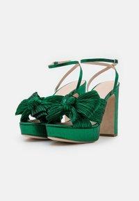 Loeffler Randall - NATALIA - Sandály na vysokém podpatku - emerald - 2