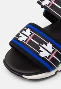 Dsquared2 - UNISEX - Sandals - black/blue - 5