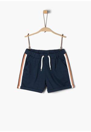 MIT GLITZER-TAPE - Shorts - dark blue