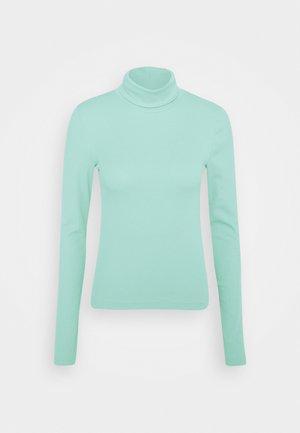 VERENA TURTLENECK - Long sleeved top - dusty blue