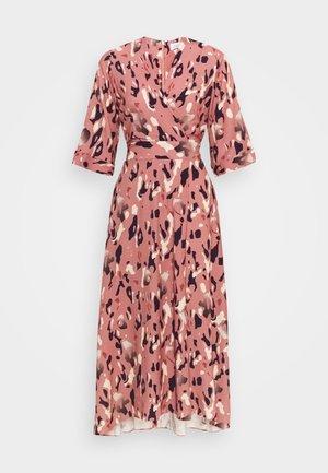 A-LINE MIDI DRESS - Day dress - pink