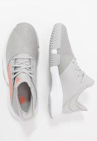 adidas Performance - GAMECOURT - Multicourt tennis shoes - grey two/signal orange/grey three - 1