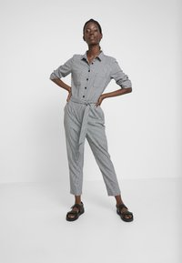 TOM TAILOR - OVERALL CASUAL CHECK - Overal - grey - 1
