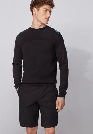 ROWIN - Strickpullover - black