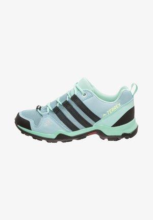 TERREX AX2R RAIN.RDY - Hiking shoes - ash grey/carbon/clear mint