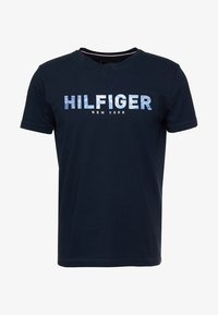 Tommy Hilfiger - APPLIQUE TEE - Print T-shirt - blue - 4