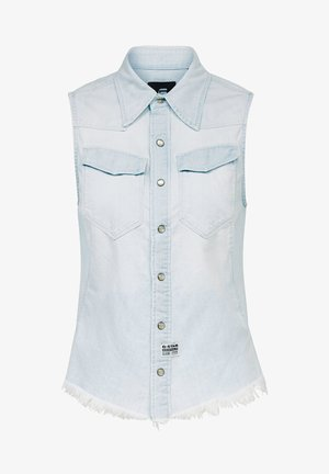 TACOMA SLIM - Button-down blouse - sun faded arctic