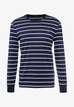 Pitkähihainen paita - french navy/white