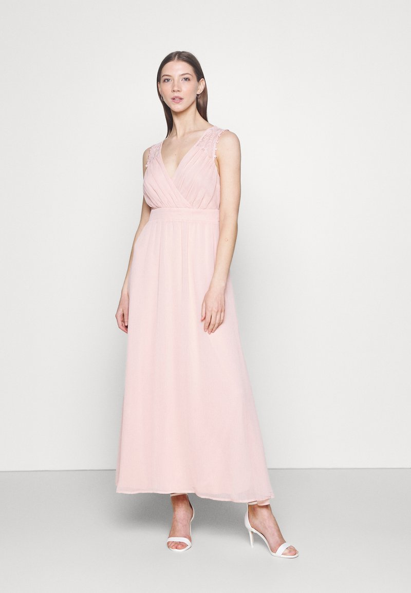 Vila - VIRILLA ANKLE DRESS - Occasion wear - rose smoke