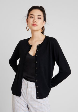 BASIC - Strickjacke - black
