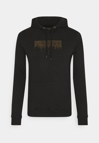 SIKSILK - CREEP OVERHEAD HOODIE - Sweatshirt - black - 3