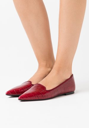 TEMPO - Slip-ons - red