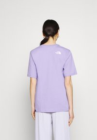 The North Face - EASY TEE - T-shirts med print - sweet lavender - 2