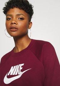 Nike Sportswear - CREW - Sweatshirt - dark beetroot - 4