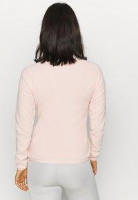 The North Face - WOMEN'S GLACIER 1/4 ZIP - Fleecetrøjer - morning pink - 2