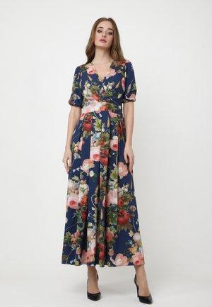 Maxi dress - blau, rosa