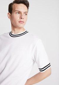 Weekday - MARK - T-Shirt print - white - 4