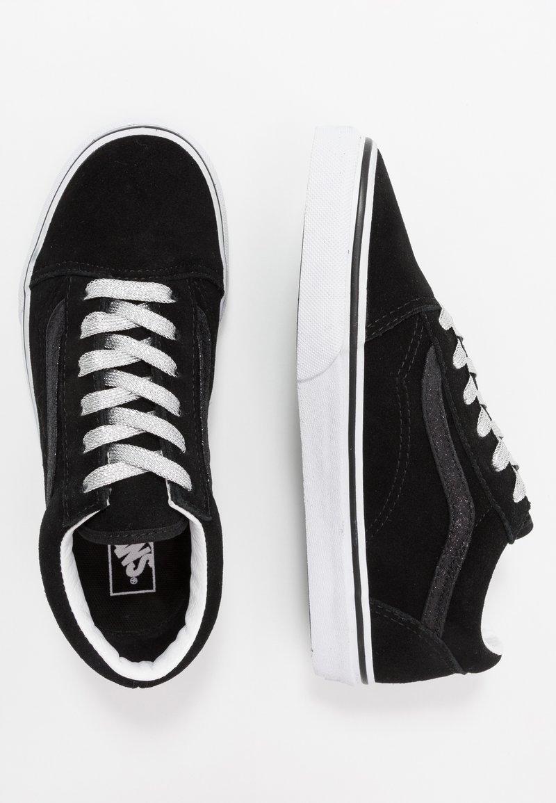 Vans - OLD SKOOL - Sneakersy niskie - glitter/black/true white