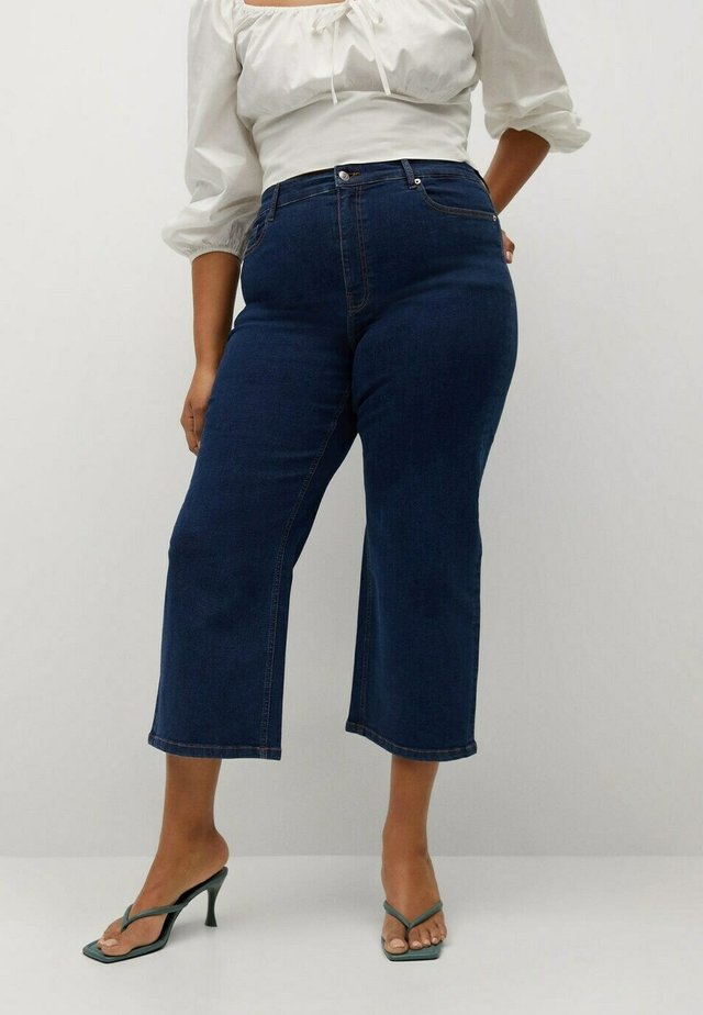 MID-RISE  - Jeans a sigaretta - donkerblauw