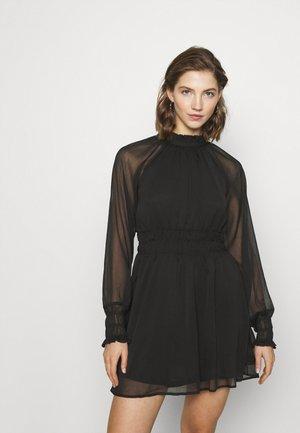 ONLLIVIA SHORT DRESS  - Day dress - black
