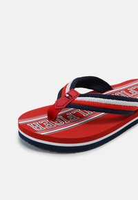 Tommy Hilfiger - UNISEX - T-bar sandals - red/multicolor - 6