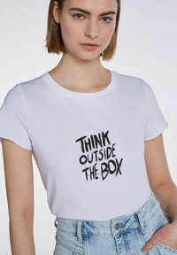 SET - Print T-shirt - bright white - 4