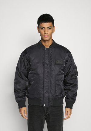 DOUBLE POCKET - Bomber Jacket - black