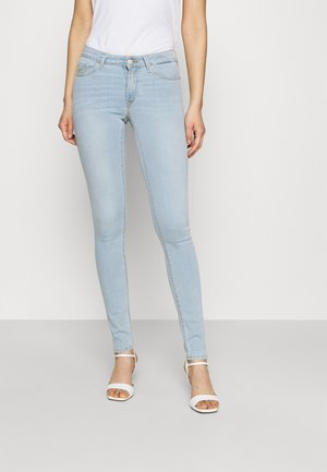 NEW LUZ PANTS - Jeans Skinny Fit - light blue