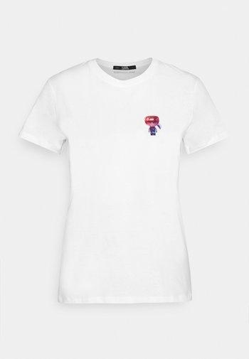 MINI 3D IKONIK  - Print T-shirt - white