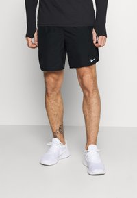Nike Performance - CHALLENGER - Sports shorts - black/silver - 0