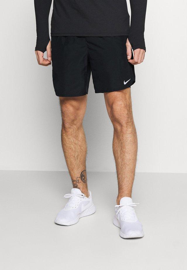 CHALLENGER - Sports shorts - black/silver