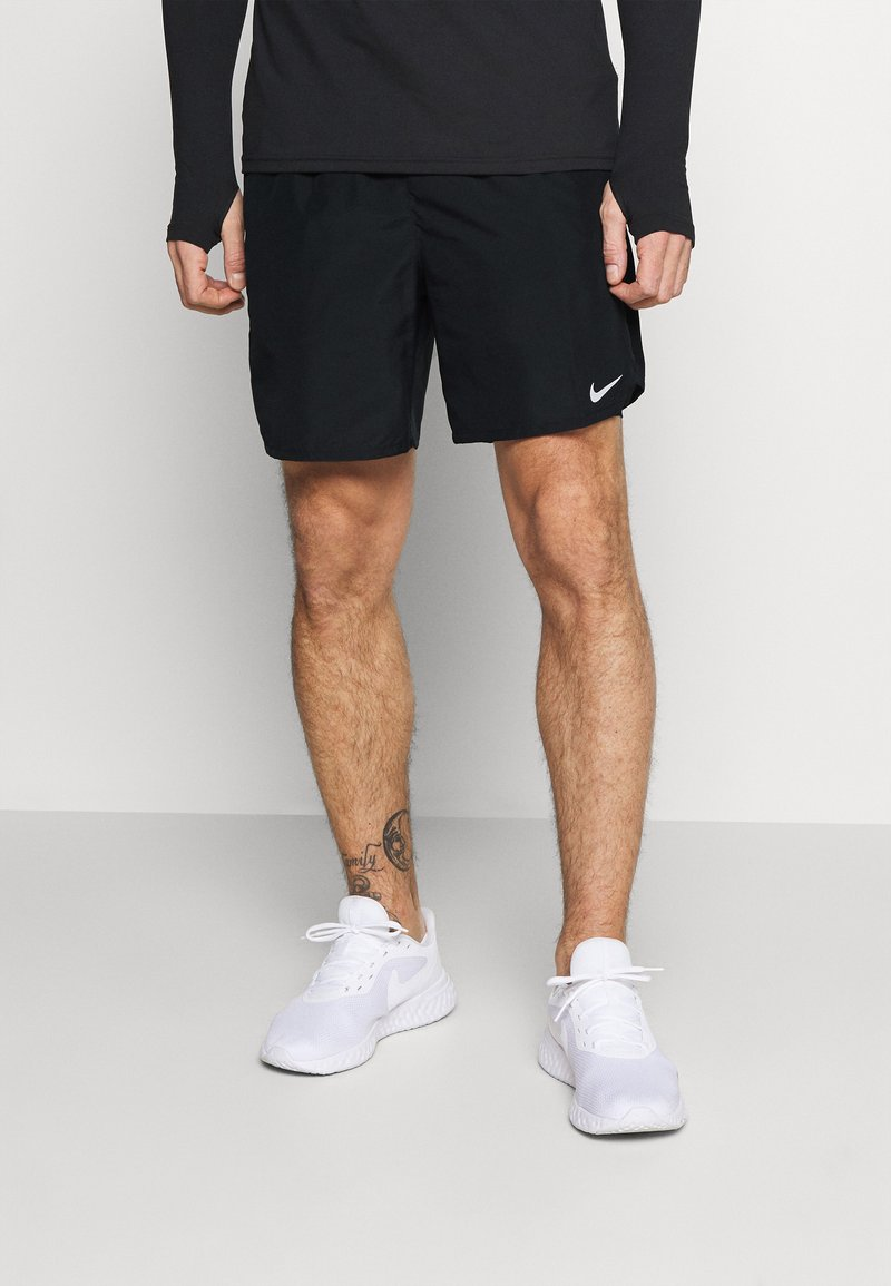 Nike Performance - CHALLENGER - Sports shorts - black/silver
