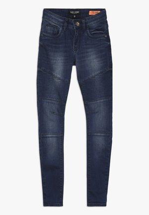 KIDS FERROL - Slim fit jeans - dark used