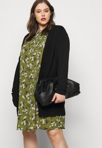 New Look Curves - AMELIE FLORAL SMOCK - Day dress - green - 3