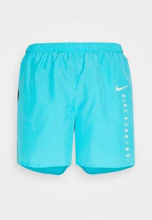 Sports shorts - chlorine blue/black/reflective silver