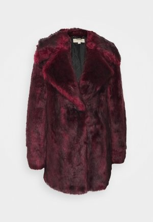 MID COAT - Kurtka zimowa - dark ruby