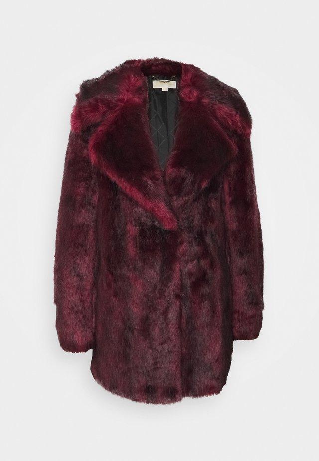 MID COAT - Veste d'hiver - dark ruby