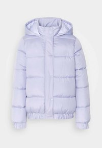 Missguided Tall - HOODED PUFFER - Winter jacket - lilac - 0