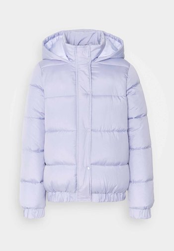 HOODED PUFFER - Winter jacket - lilac