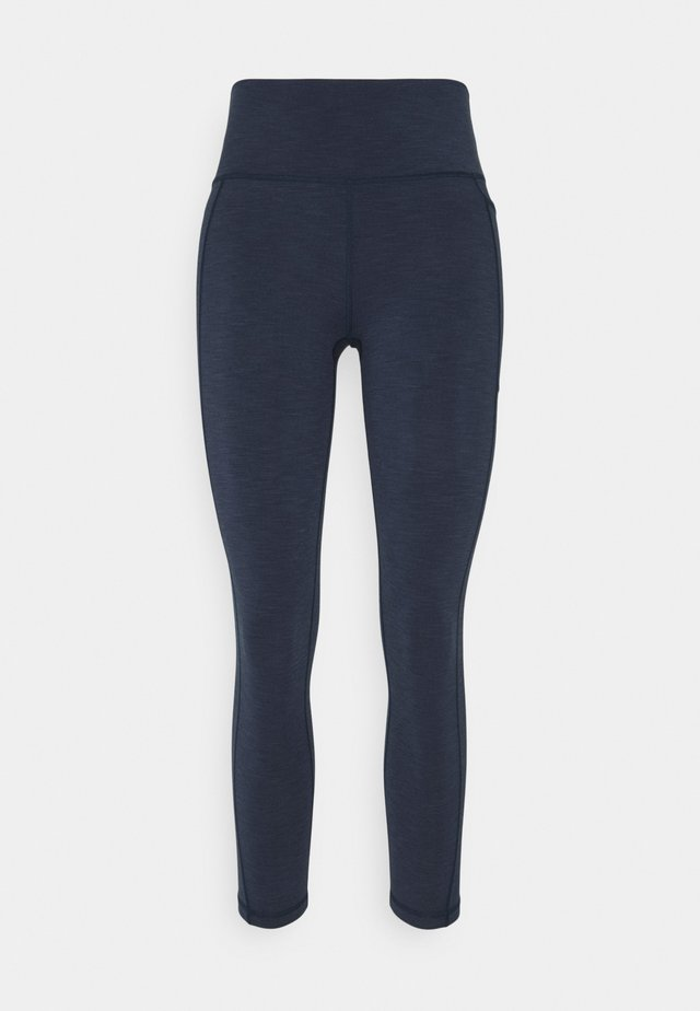 SUPER SCULPT 7/8 YOGA LEGGINGS - Leggings - navy blue