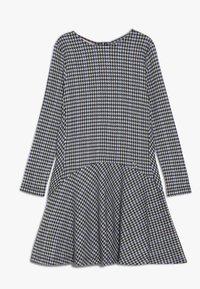 Pinko Up - IMPAGINATORE ABITO - Jumper dress - black/white - 0